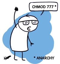 Chmod 777 = Anarchie