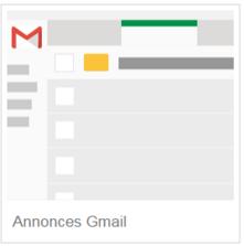 Annonces Gmail GSP