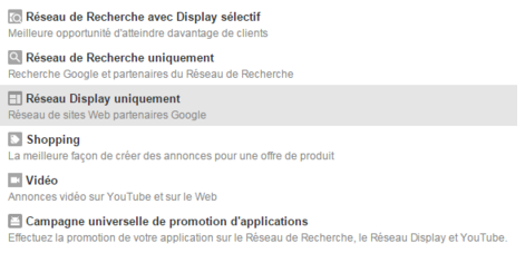 AdWords Display GSP