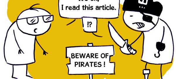 Attention aux pirates !
