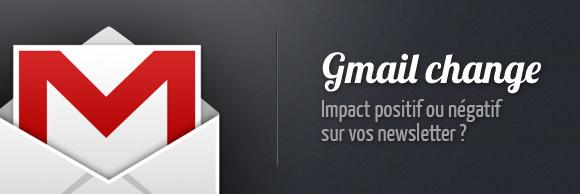 Modification de l'interface de Gmail. Quel impact pour vos newsletter ?