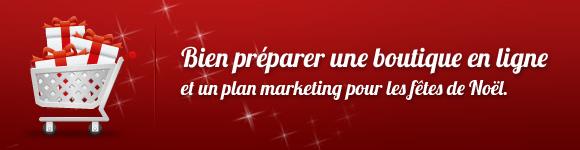 Bien préparer une boutique en ligne et un plan marketing pour les fêtes de Noël