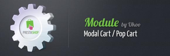 Module PrestaShop d'ajout au panier : Pop Cart