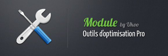 Module PrestaShop - Outils d'optimisations Pro