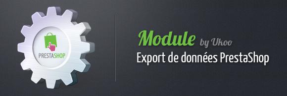 Module d'export PrestaShop