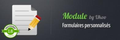 Module de formulaires personnalisés pour PrestaShop 1.6