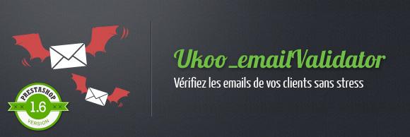 Ukoo Email Validator Prestashop