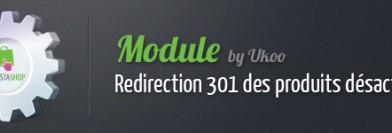 Module PrestaShop : redirection 301 automatique des produits désactivés