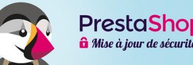 Nouveau patch de sécurité pour PrestaShop