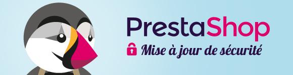 Correctif de sécurité PrestaShop
