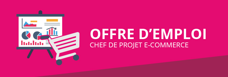 Offre d'emploi – Chef de projet E-commerce H/F