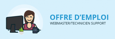 Webmaster / Technicien support H/F