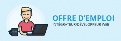Intégrateur/développeur web H/F
