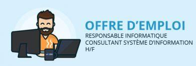 Responsable informatique / Consultant système d'information H/F