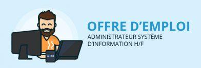 Administrateur système d'information H/F