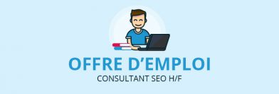 Consultant SEO H/F